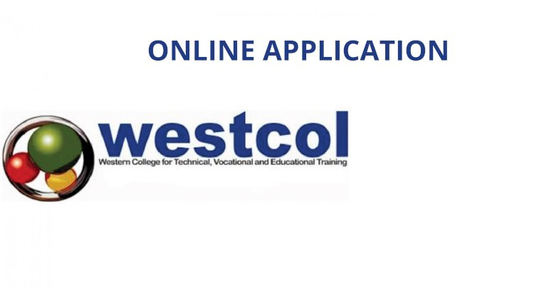 westcol online application 2021